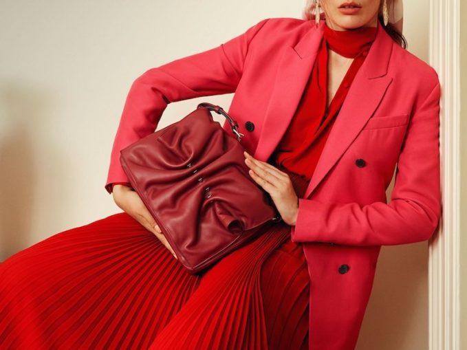Valentino Silk-Blend Double-Breasted Blazer