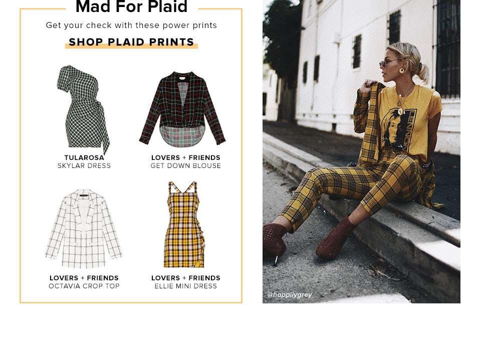 Mad For Plaid. Get your check with these power prints. Shop Plaid Prints.