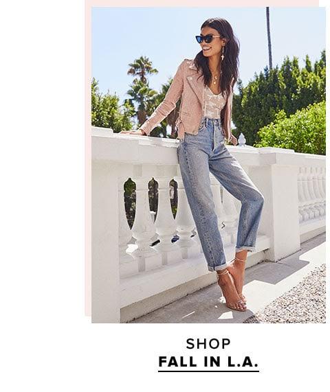 Shop fall in LA