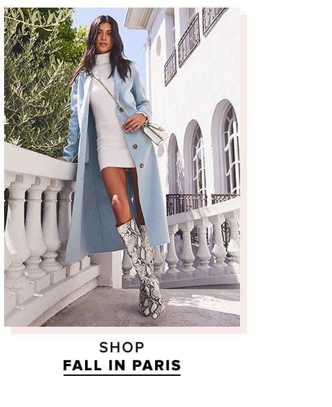 Shop fall in Paris