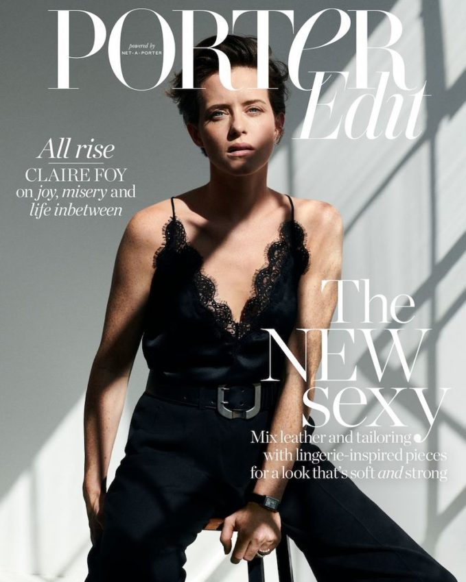 A New Reign: Claire Foy for The EDIT