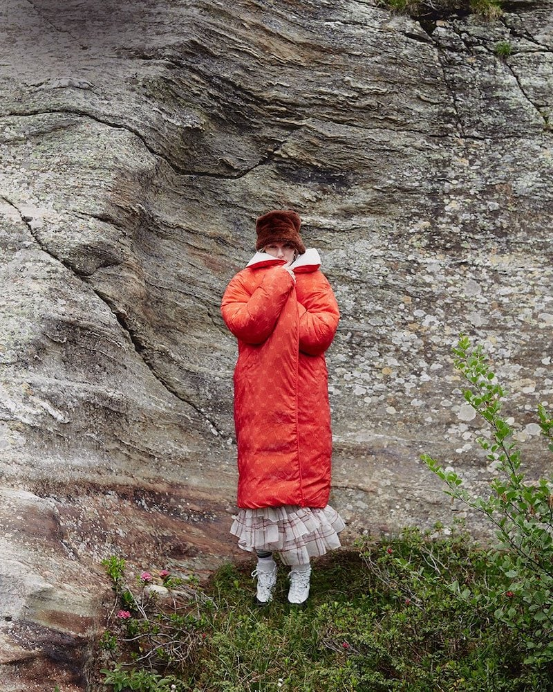 A. A. Spectrum AVOC A.A.S Padded Reversible Coat