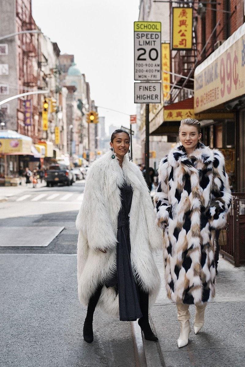 Balenciaga Oversized Faux-Fur Coat