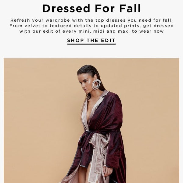 ae7db6e9a3 Best Dressed for Fall 2018