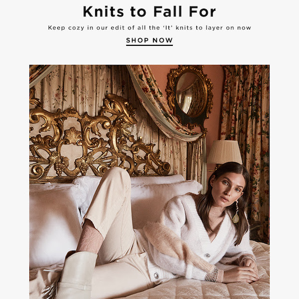 Editorial // Best Knits to Fall For 2018