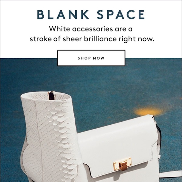 Blank Space: Barneys New York Fall 2017 Accessories Edit