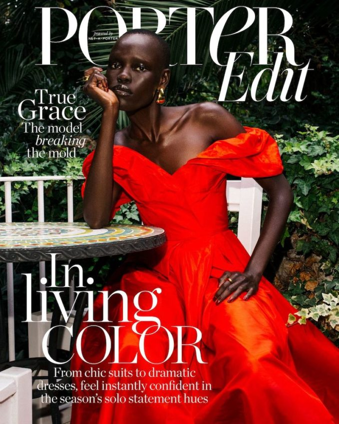 Born to Stand Out: Grace Bol for The EDIT