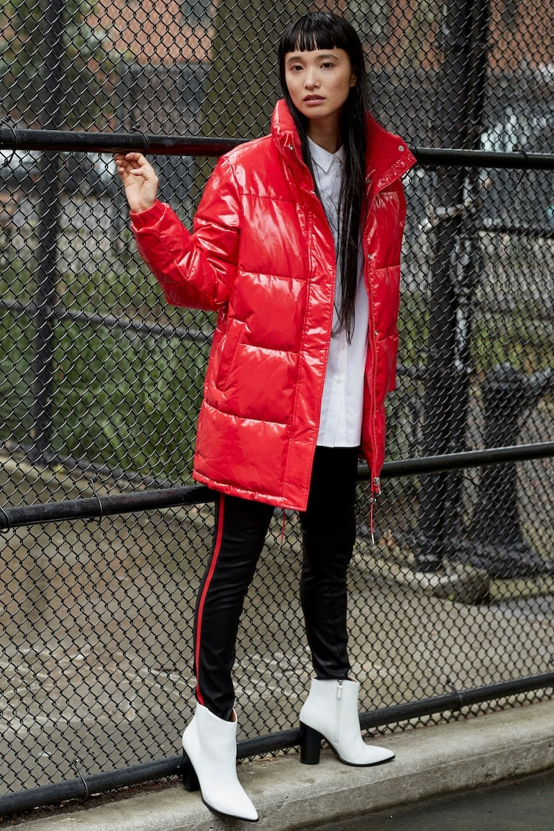 Calvin Klein Jeans Glossy Puffer Jacket
