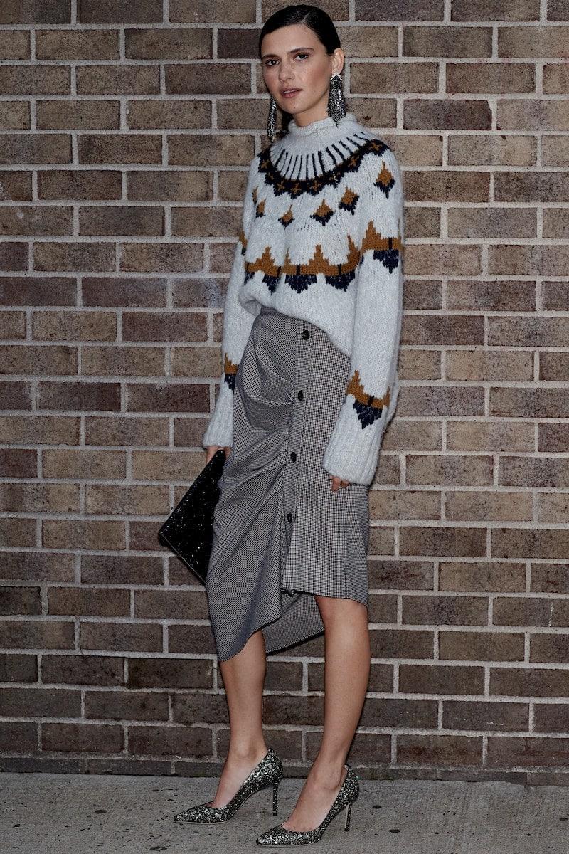 Chelsea28 Gathered Midi Skirt