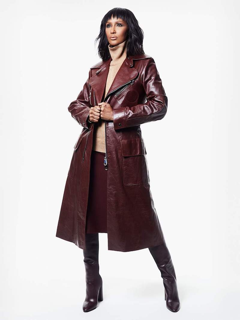 Chloé Leather Coat