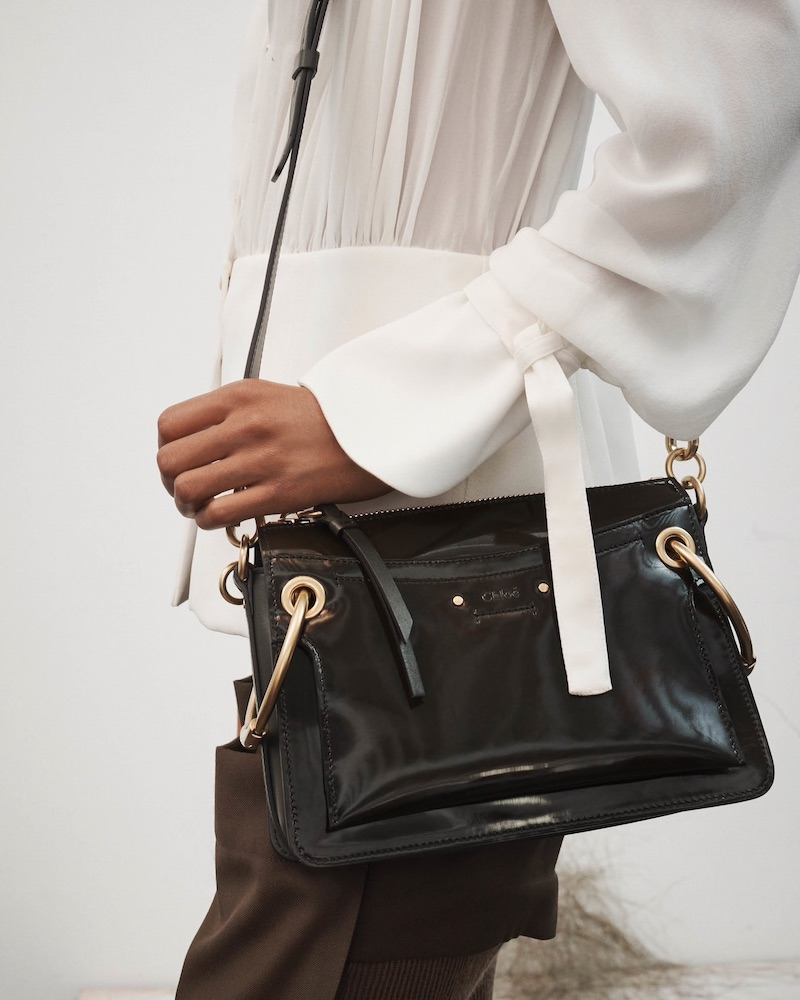 Chloé Roy Small Leather Shoulder Bag