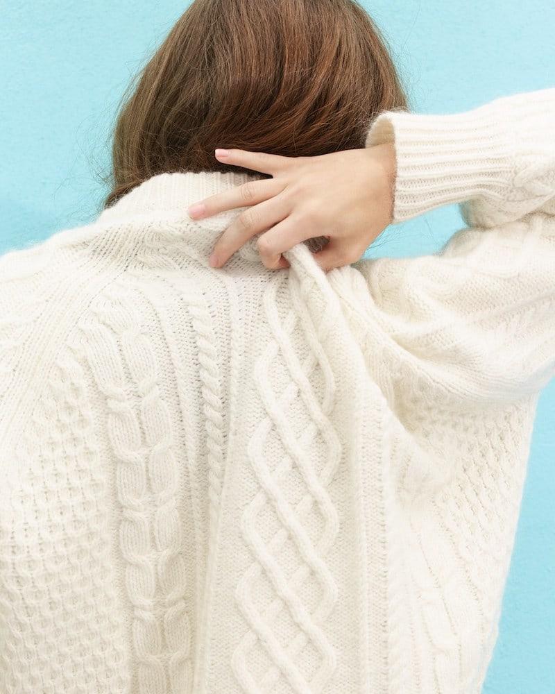 Demylee x J.Crew Balloon-Sleeve Sweater 1