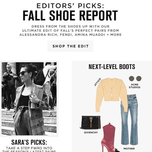 Editors' Picks // Fall 2018 Shoe Report
