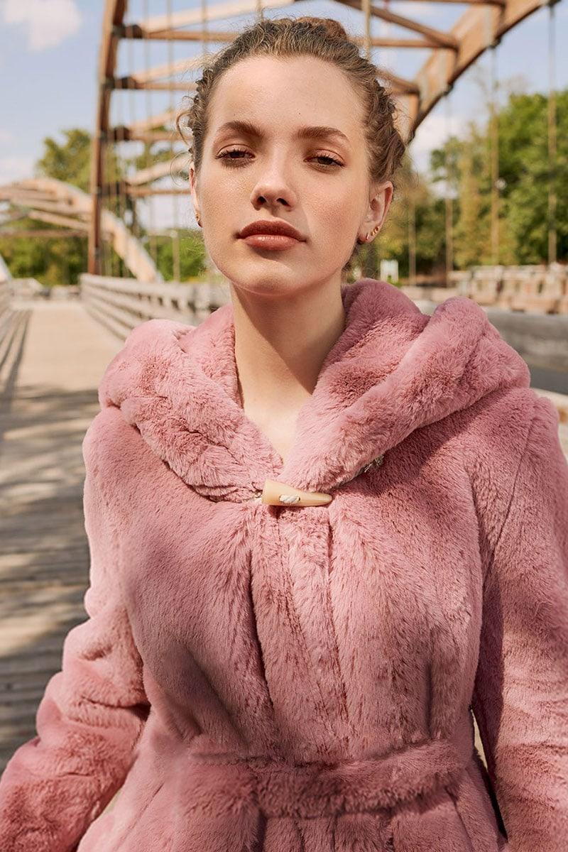 Golden Goose Stella Faux Fur Coat