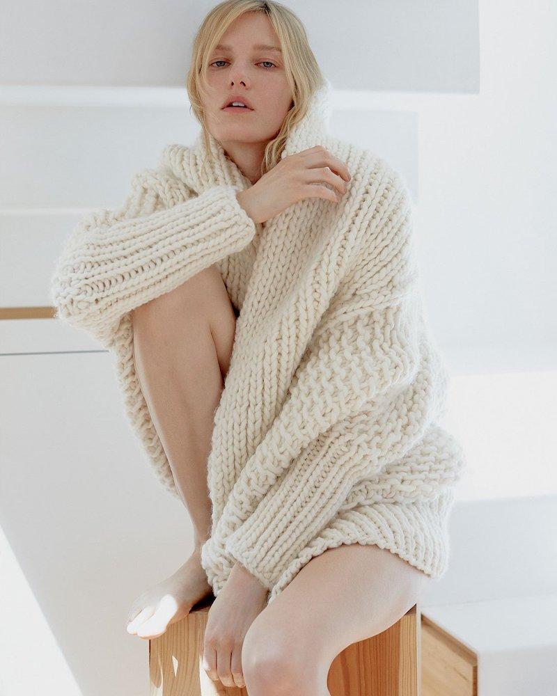 I Love Mr Mittens Oversized Wool Cardigan