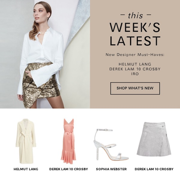 INTERMIX THIS WEEK'S LATEST October 01, 2018