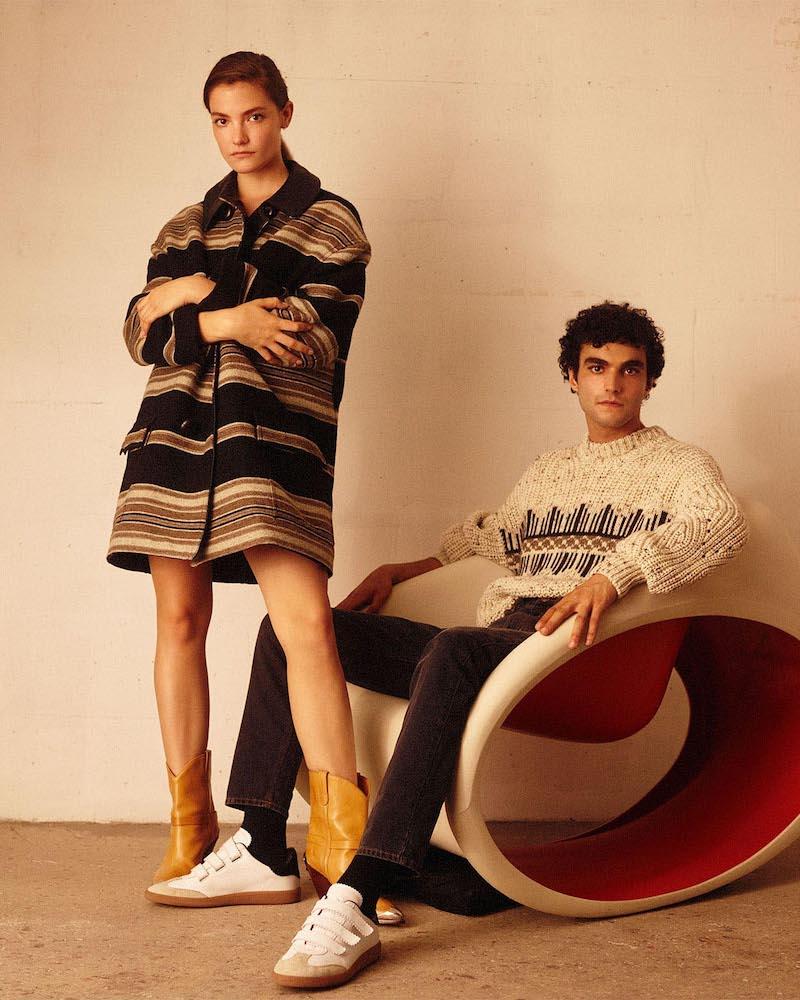 Isabel Marant Hilda Wool Coat