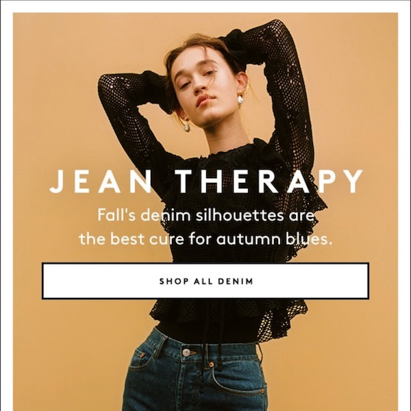 Jean Therapy: Three Denim Looks for Perfect Fall Style