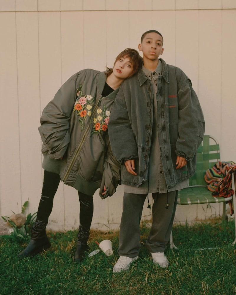 Junya Watanabe Comme des Garçons Embroidered Bomber Jacket