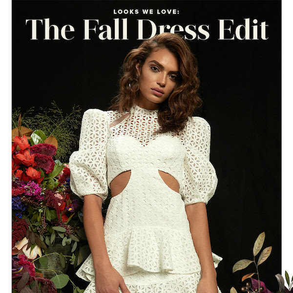 Looks We Love // Fall 2018 The Dress Edit