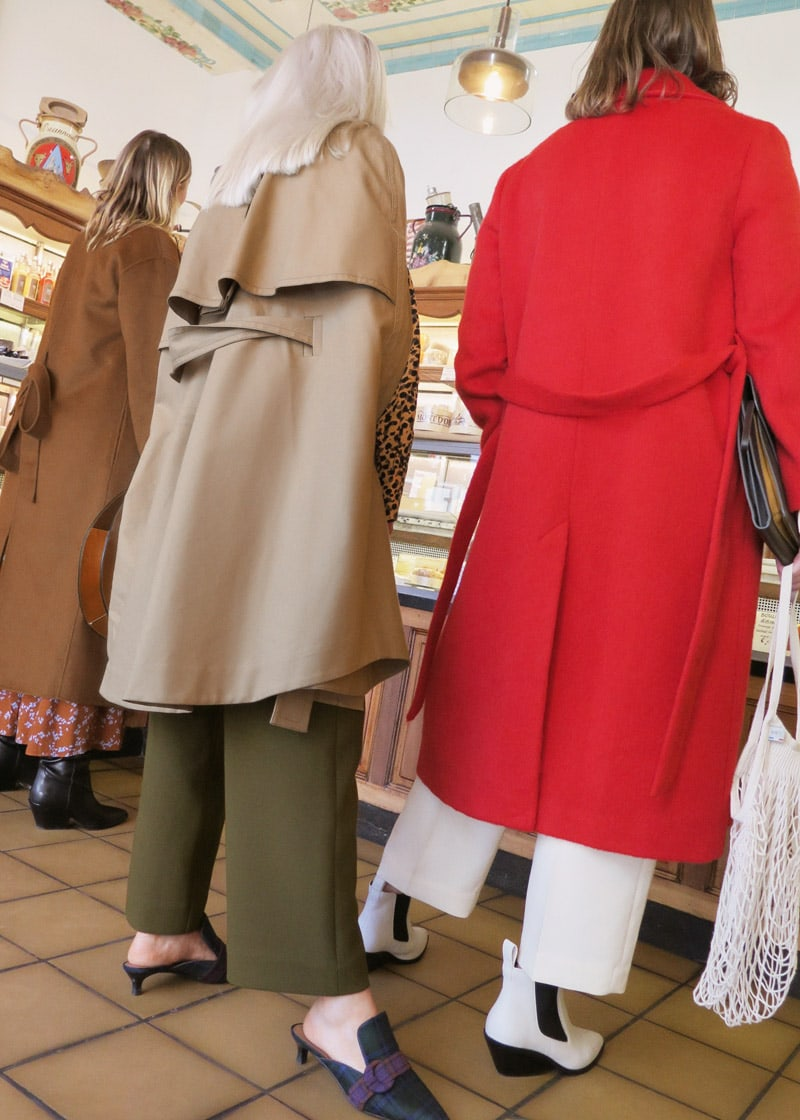 & Other Stories Belted Trench Cape