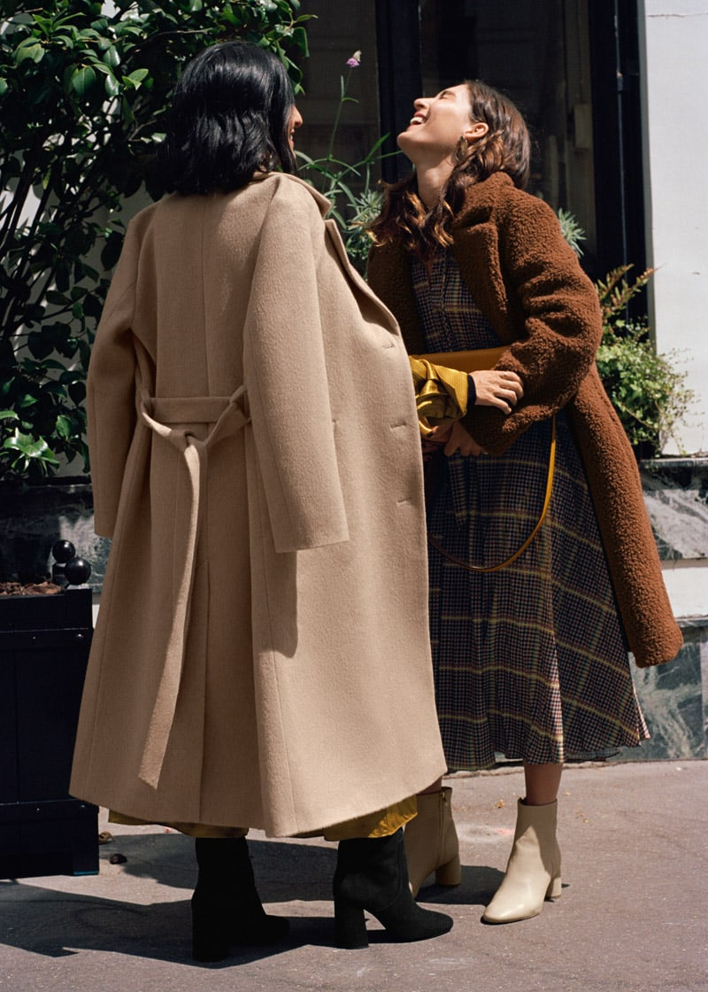 & Other Stories Faux Shearling Teddy Coat