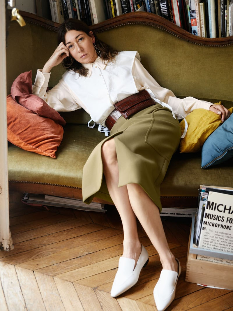 & Other Stories High Waisted Workwear Skirt