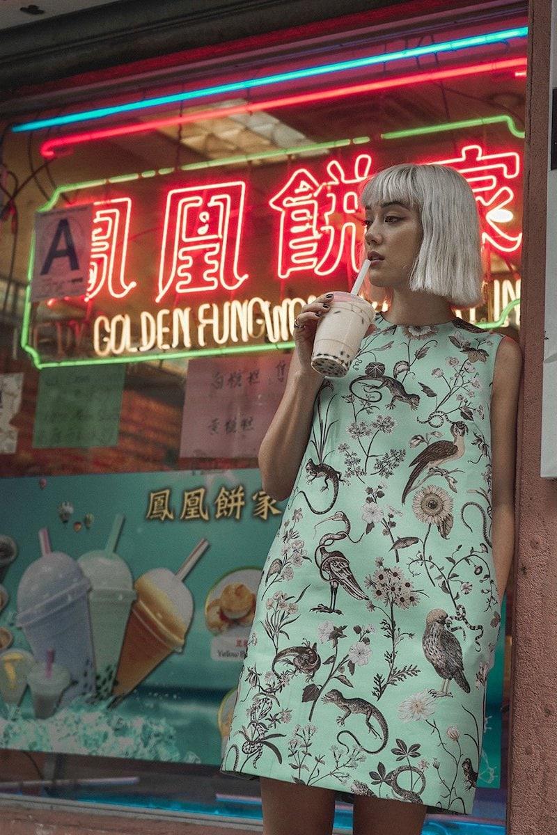 REDValentino Floral-Jacquard Shift Dress