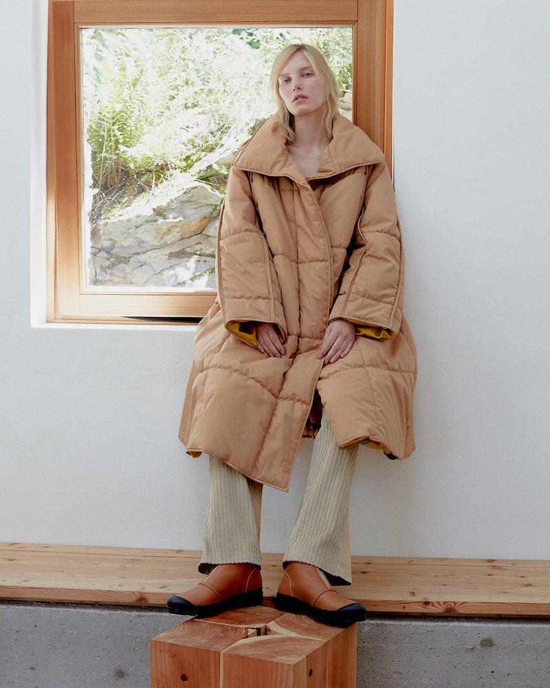 Roksanda Maera Quilted Cotton Coat