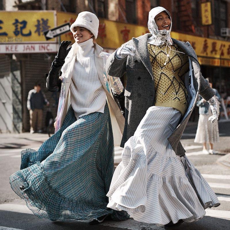 Sies Marjan Sies Marjan Mamie Iridescent Cotton Trench Coat