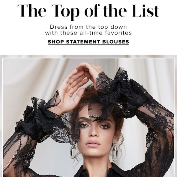 The Top of The List: Statement Blouses for Fall 2018
