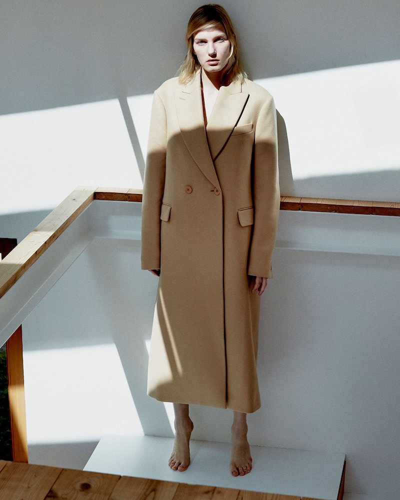 Stella McCartney Twill Overcoat