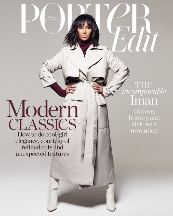 The Change Agent: Iman for The EDIT