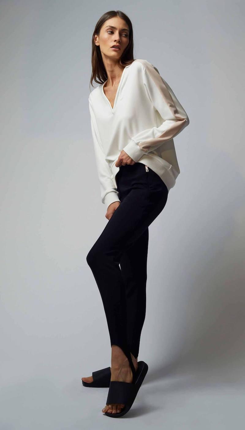 Tibi Stirrup Trousers