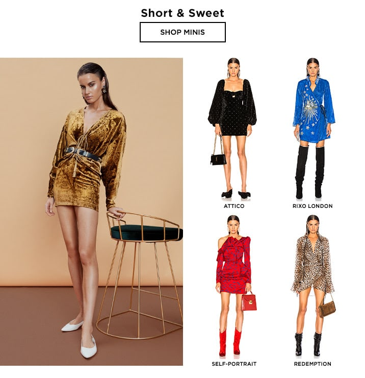 Dressed For Fall: Short & Sweet - Shop Minis