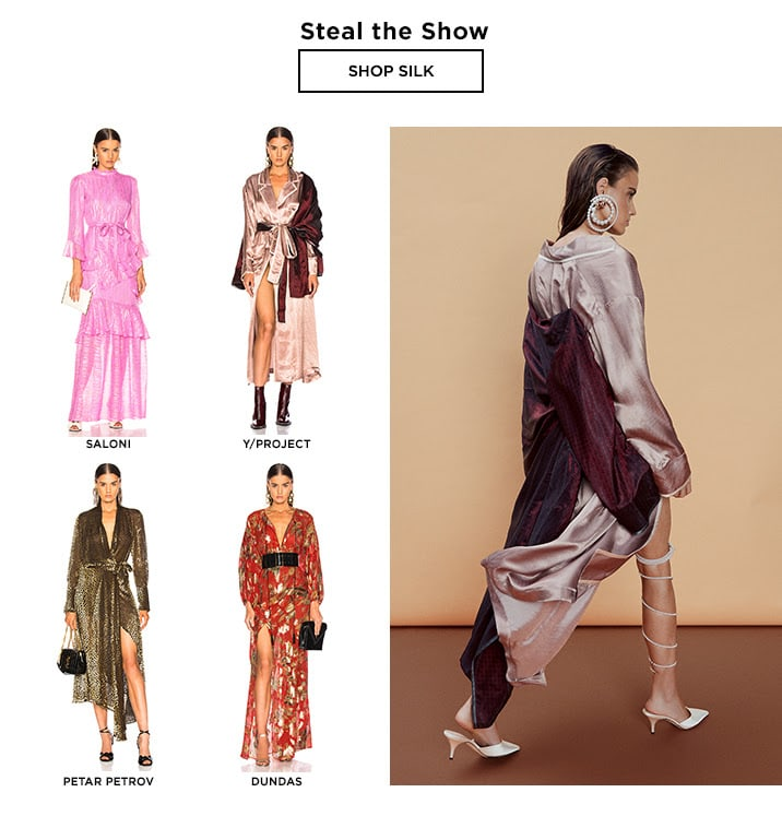 Dressed For Fall: Steal the Show - Shop Silk