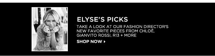 Elyses Picks - Shop now
