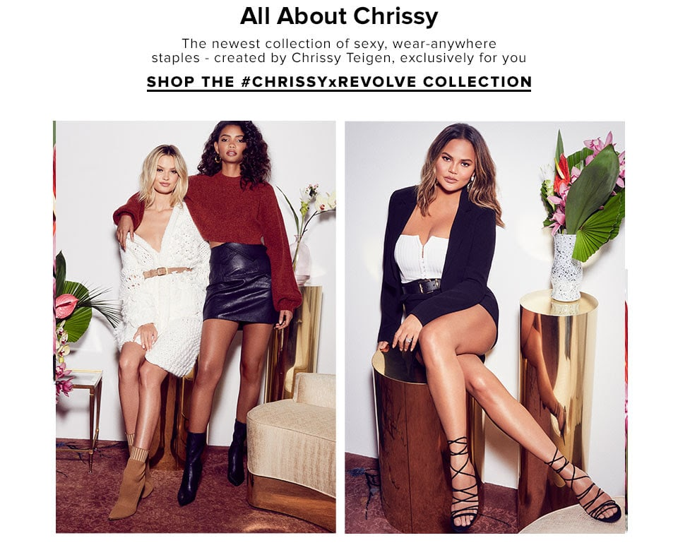 All About Chrissy - Shop The Collection