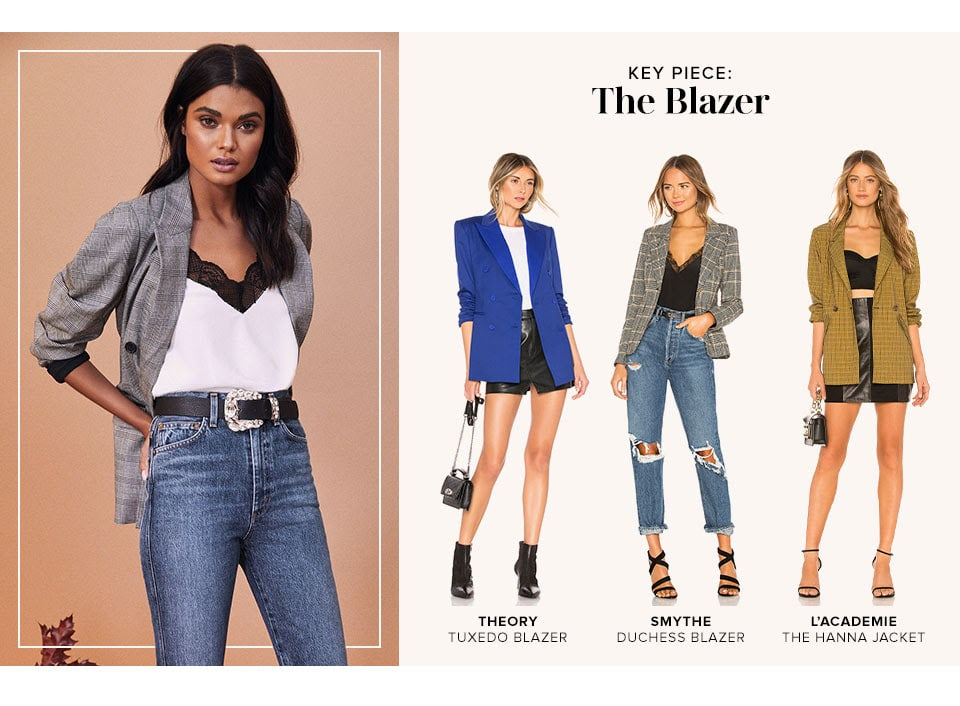 Key Piece: The Blazer
