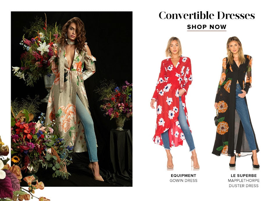 Convertible Dresses. Shop now.