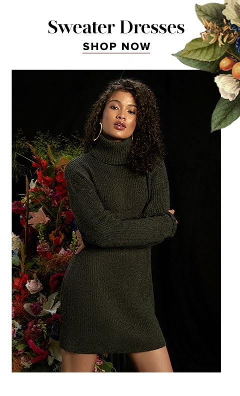 Sweater Dresses. Shop now.