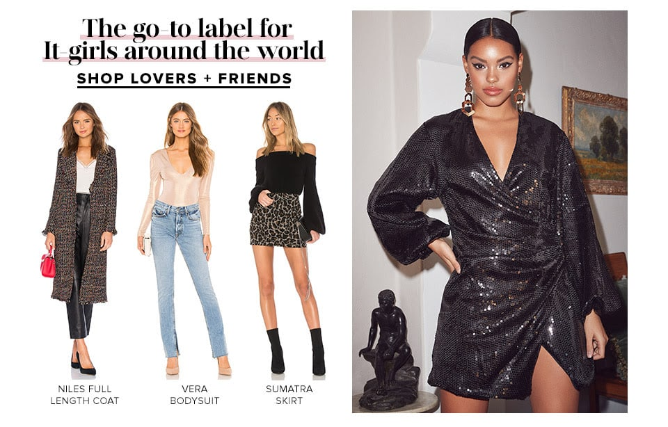 The go-to label for It-girls around the world. Shop Lovers + Friends.