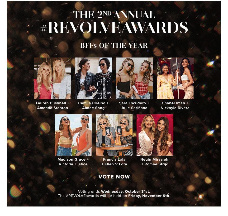 Revolve Awards Vote Bffs Of The Year