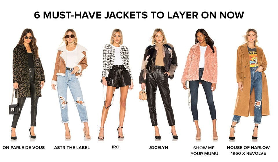 6 Must-Have Jackets to Layer on Now. Shop All Outerwear.