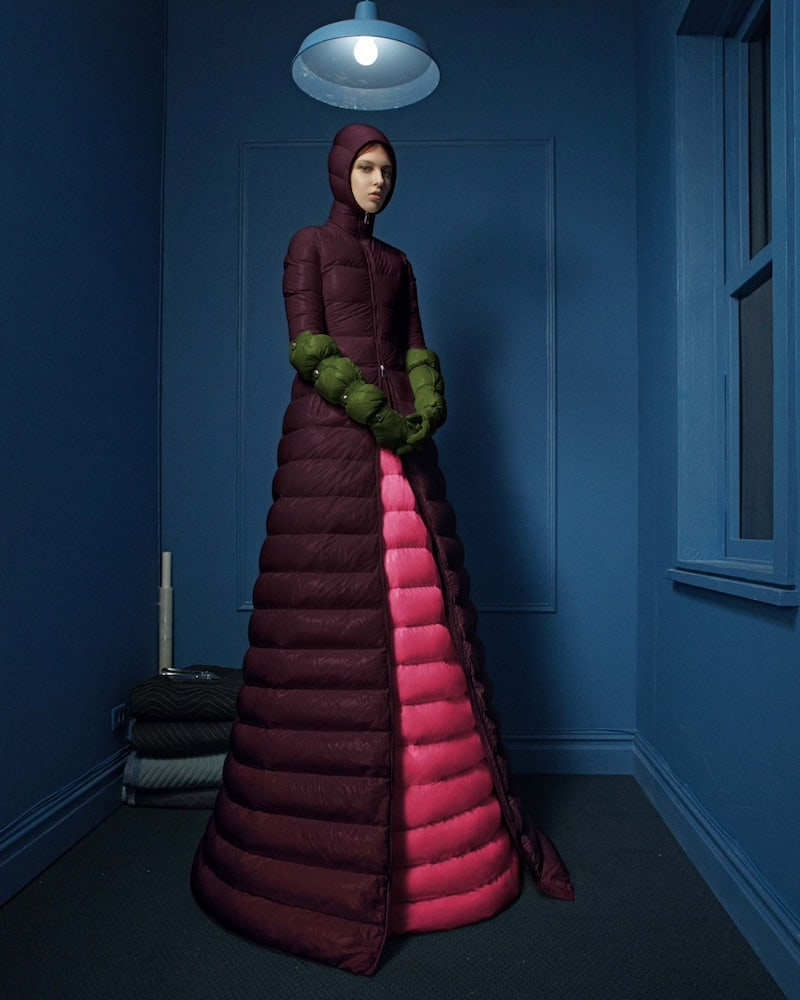 1 MONCLER PIERPAOLO PICCIOLI Agnese Down-Quilted Puffer Jacket