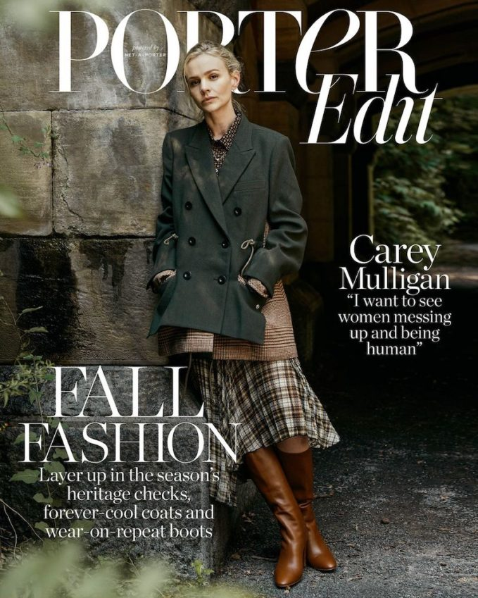 A Woman Apart: Carey Mulligan for The EDIT