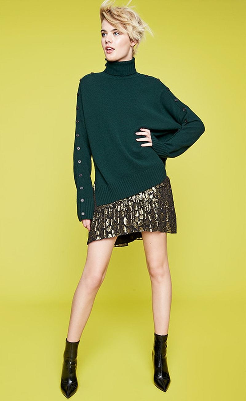 A.L.C. Baxter Silk Blend Skirt