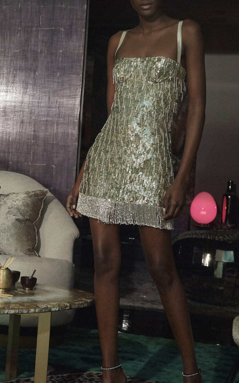 Alexis Izabell Sequin Mini Dress