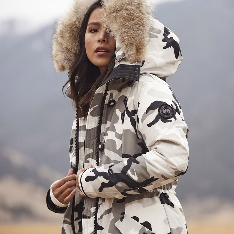 Canada Goose Rossclair Camouflage Tech-Faille Parka