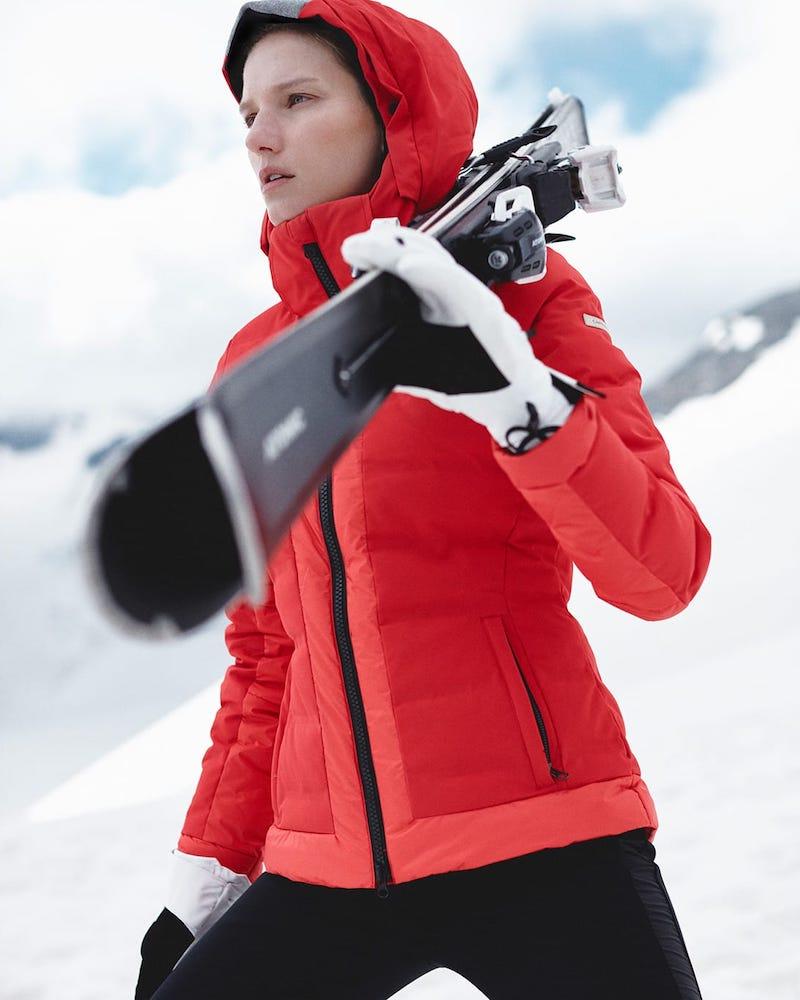 Capranea Gem II Quilted Ski Jacket